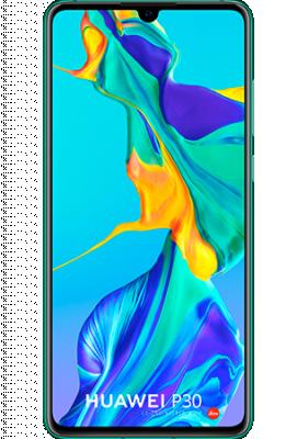 Huawei P30 - 128GB Twilight blauw (Aurora)